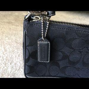 "Coach Bags - Coach 8 1/2"" x 5 1/2"" patterned purse"